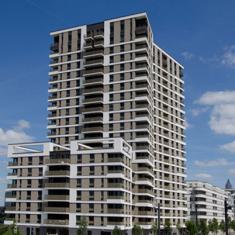 Allemagne Francfort Westside Tower - Système de ventilation modulée Aereco - Référence