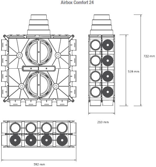 Airbox-Comfort-24-technische-Zeichnung