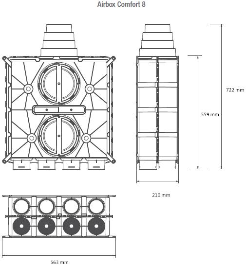 Airbox-Comfort-8-technische-Zeichnung