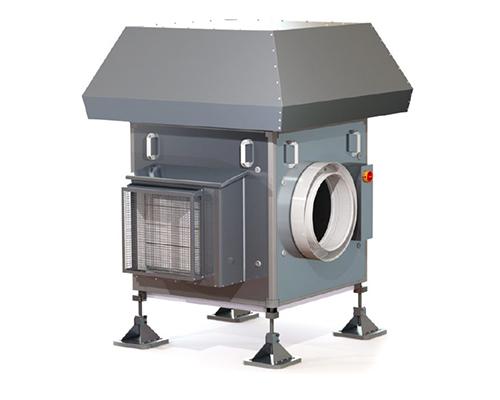 Lüftungsanlage AWN mit Wärmerückgewinnung durch Abluftwärmenutzung Produktbild