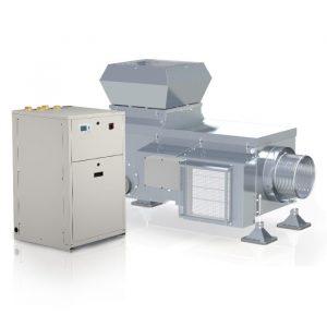 Lüftungsanlage AWN mit Wärmerückgewinnung durch Abluftwärmenutzung Model AWN Connect Produktbild