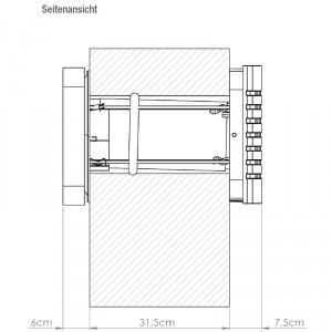 LAD easy technsiche Zeichnung Querschnitt