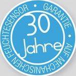 Pictrogramm 30 Jahre Garantie auf den hygrometrischen Feuchtesensor