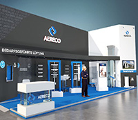 Aereco Messestand bei der Fensterbau Frontale 2020